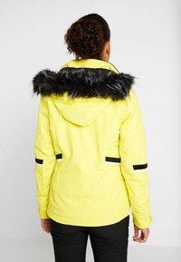 Ziener - TOYAH LADY - Ski jas - yellow power - 2