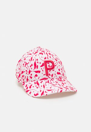 WOMENS DOT DITSY - Cap - teaberry/bright white