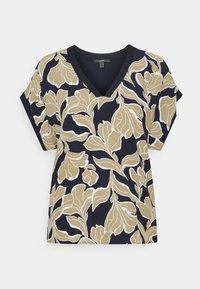 Esprit Collection - FAB MIX - T-shirt z nadrukiem - navy - 0