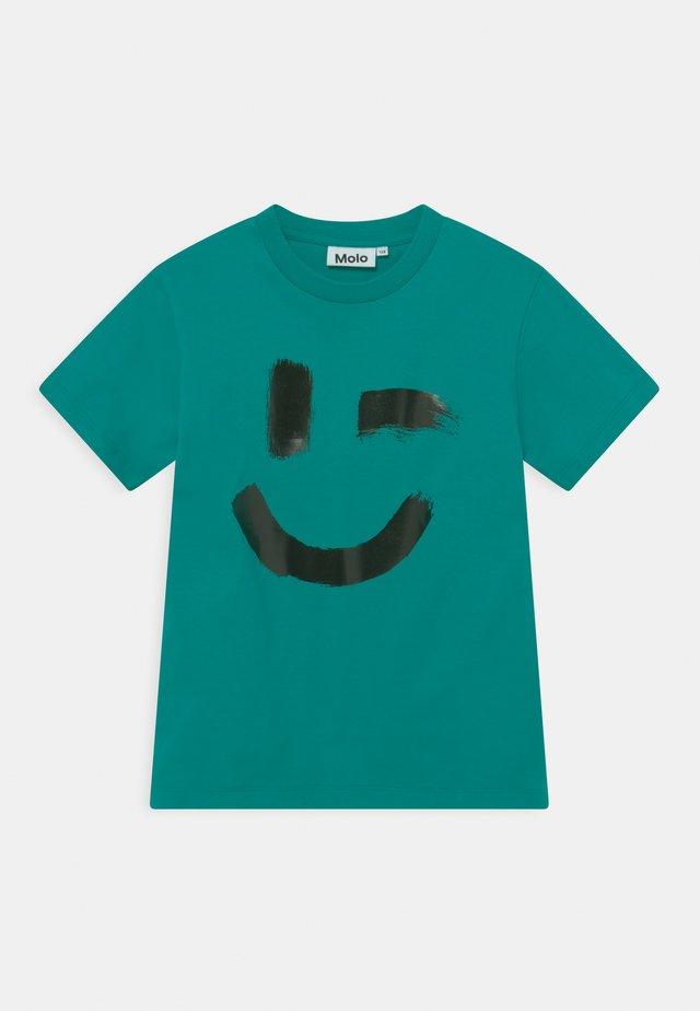 ROXO UNISEX - Camiseta estampada - teal