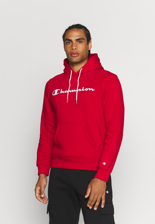 LEGACY HOODED - Mikina skapucí - red
