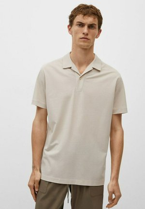 BOWLING KRAGE - Poloshirt - beige
