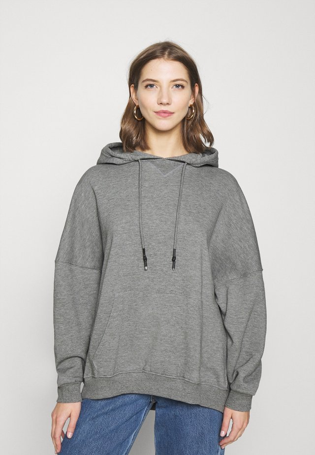 ONLDOVE  - Jersey con capucha - medium grey melange