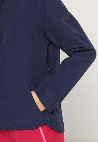 Mammut - Waterproof jacket - peacoat - 5
