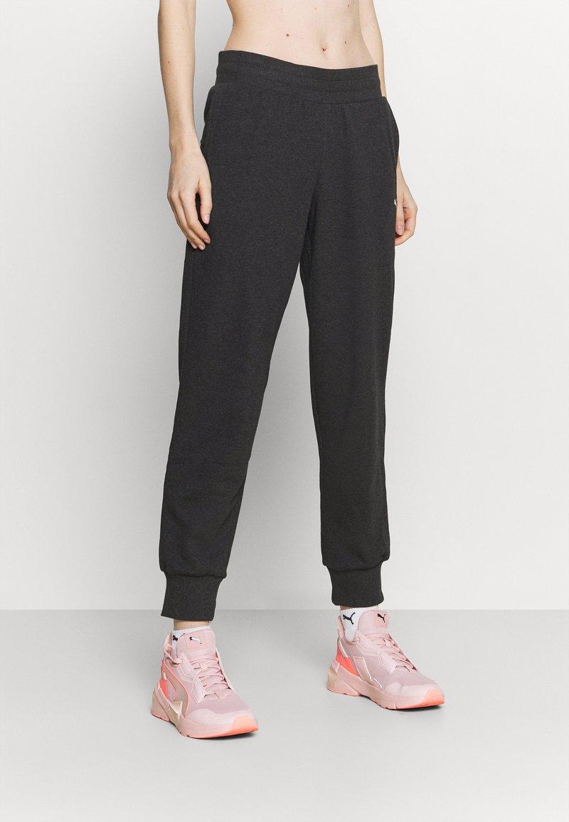 Puma - Pantaloni sportivi - dark gray heather