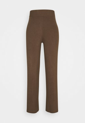 CELESTINA PANTS - Trousers - chocolate chip