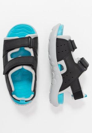 WOUS KIDS - Walking sandals - black