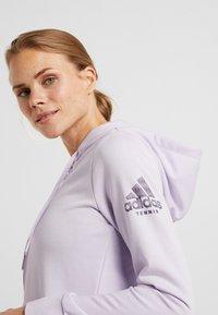adidas Performance - CLUB HOODIE - Hettejakke - purple - 4