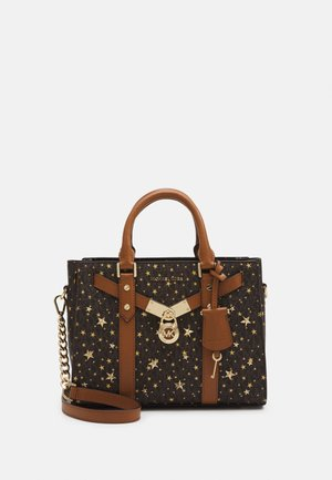 NOUVEAU HAMILTONSM SATCHEL - Handbag - brown/gold