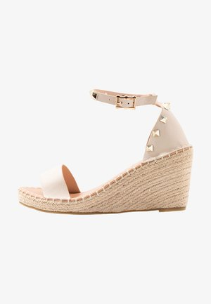 WIDE FIT TAMSIN - Espadrilles - nude