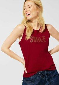 Street One - Print T-shirt - rot - 0