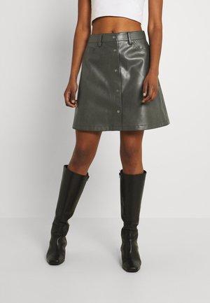 NMGRAHAM SKIRT - Minifalda - dusty olive