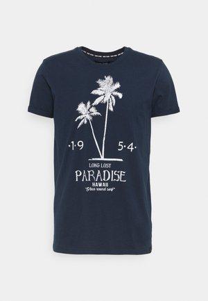 SEADOR  - T-shirt con stampa - navy