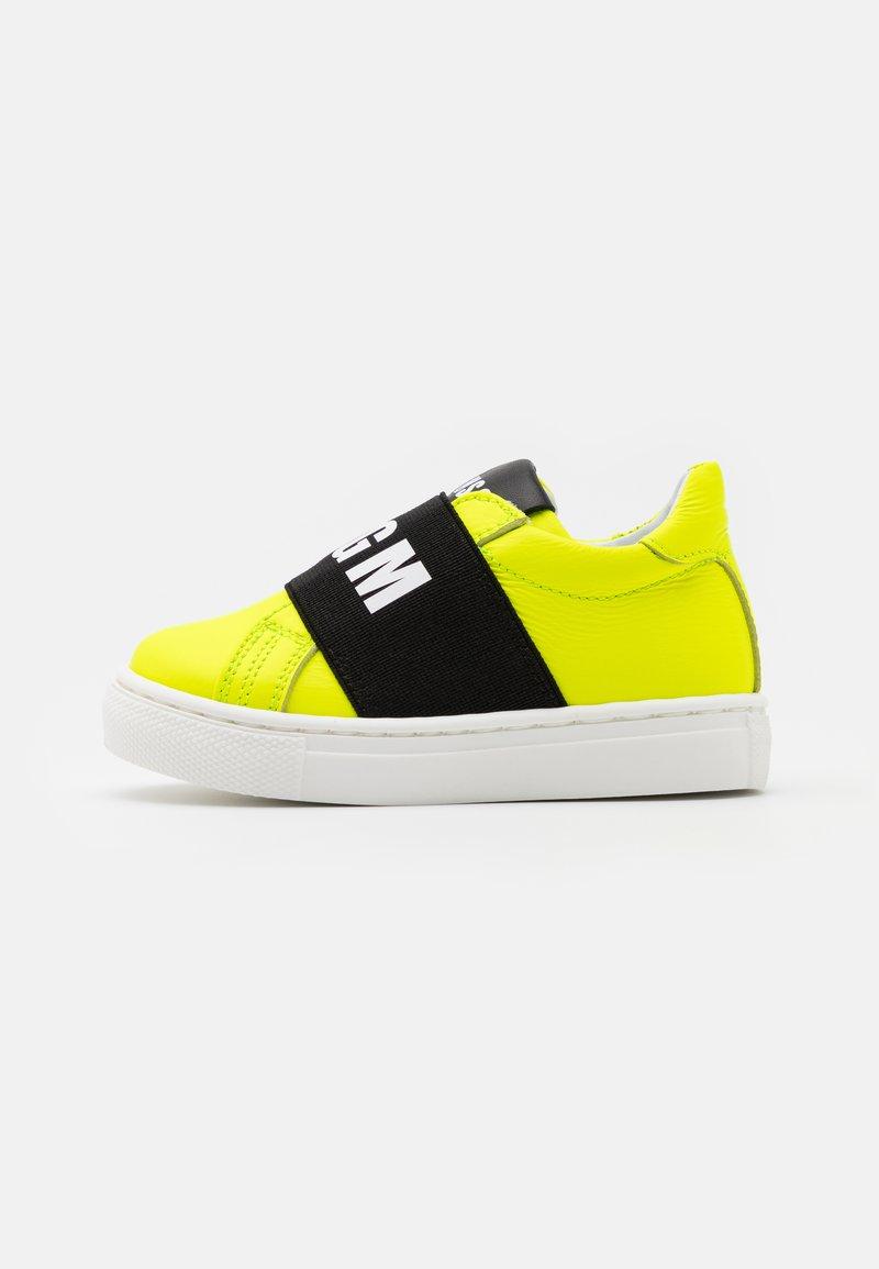 MSGM - UNISEX - Slip-ons - neon yellow
