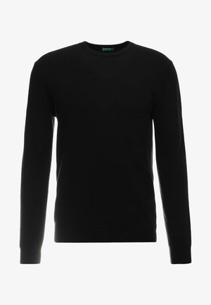 BASIC CREWNECK - Jumper - black