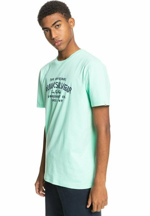 WIDER MILE - Print T-shirt - cabbage
