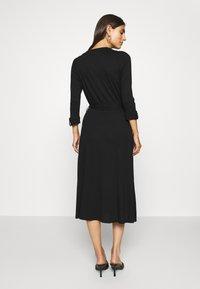 Esprit - WRAP DRESS - Maxi dress - black - 2
