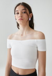 PULL&BEAR - Top - white - 3
