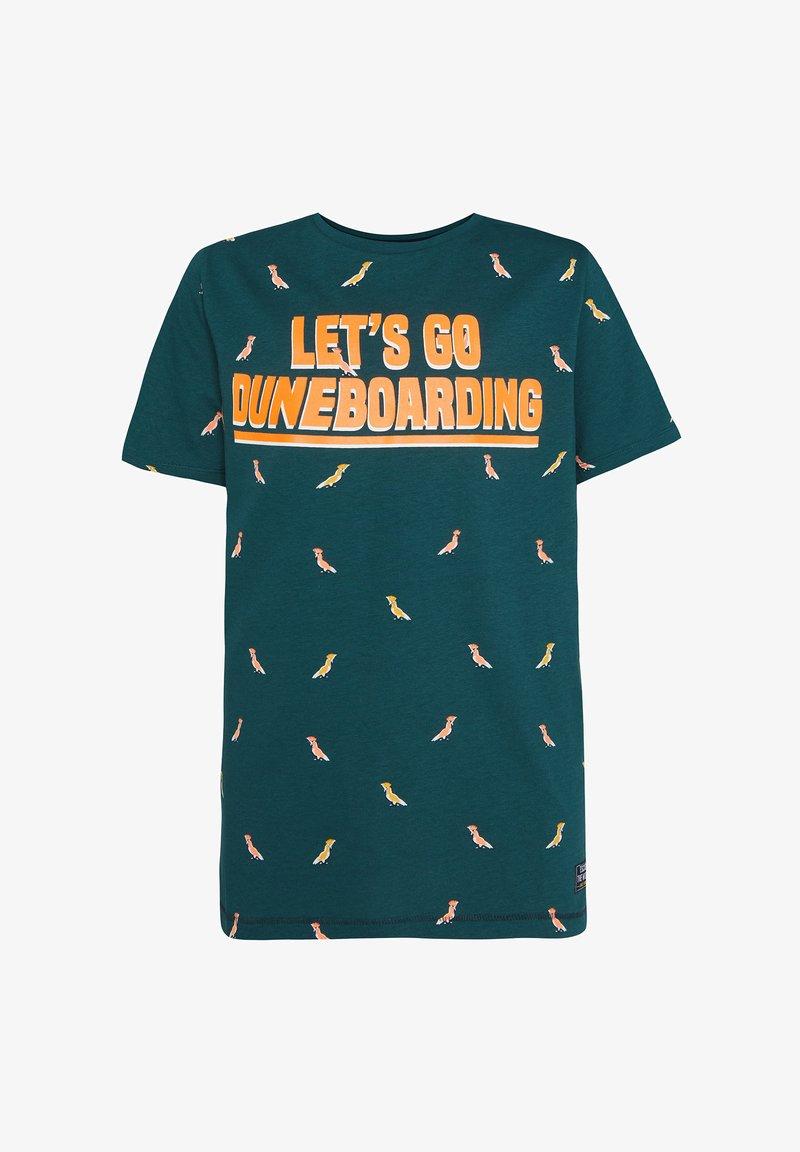 WE Fashion - Camiseta estampada - dark green