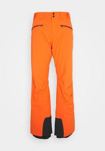 TRUULI SKI PANT - Snow pants - juicy orange