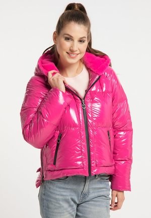 Winter jacket - fuchsia