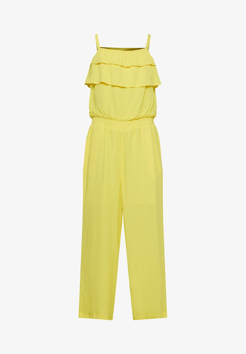 WE Fashion - MIT RÜSCHE - Jumpsuit - yellow