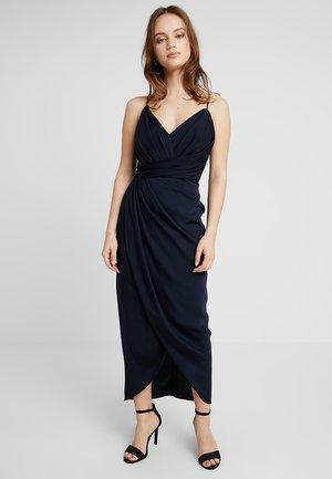 CHARLOTTE DRAPE DRESS - Suknia balowa - navy