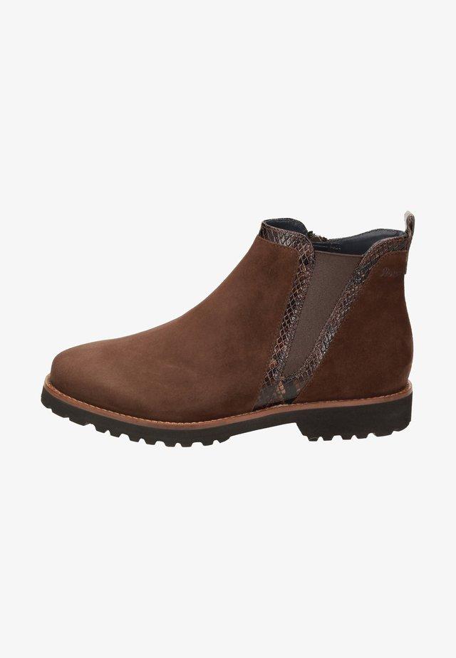 Ankle Boot - dunkelbraun