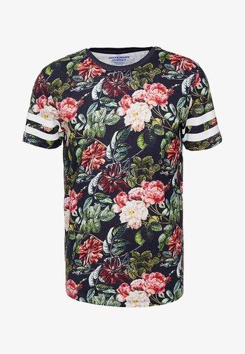 JORDIZ TEE CREW NECK - T-shirt med print - tap shoe