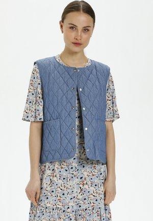 ALF - Waistcoat - classic blue denim