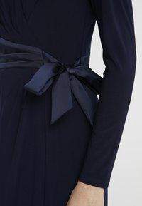 Lauren Ralph Lauren - MID WEIGHT DRESS COMBO - Robe en jersey - lighthouse navy - 6