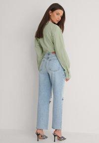 NA-KD - Straight leg jeans - light blue - 2