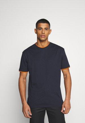 UNISEX  - Jednoduché triko - dark blue
