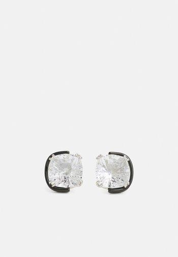 HARMONIA - Earrings - transparent/black