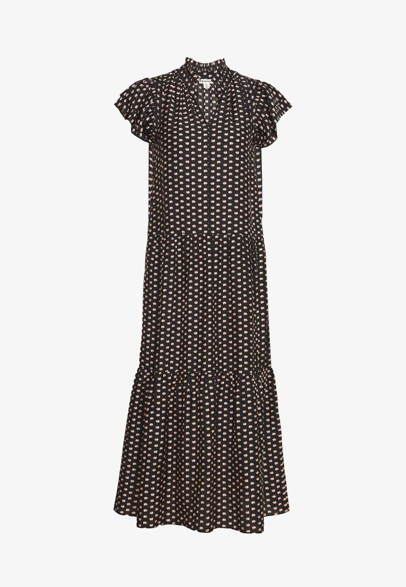 Whistles - ELEPHANT PRINT MIDI DRESS - Day dress - black