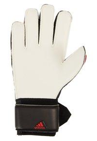 adidas Performance - PREDATOR - Goalkeeping gloves - black/actred - 3