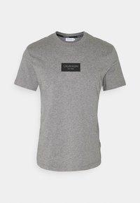 Calvin Klein - CHEST BOX LOGO - Print T-shirt - grey - 0