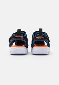 Skechers - HYPNO SPLASH - Walking sandals - black/blue/orange - 2