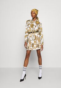 Versace Jeans Couture - SHIRT - Blouse - white/gold - 5