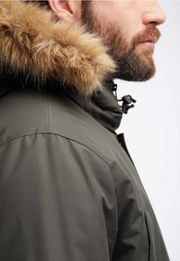 HAWKE&CO - Winter coat - dark green - 3