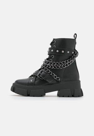 TRANQUIL - Veterboots - black