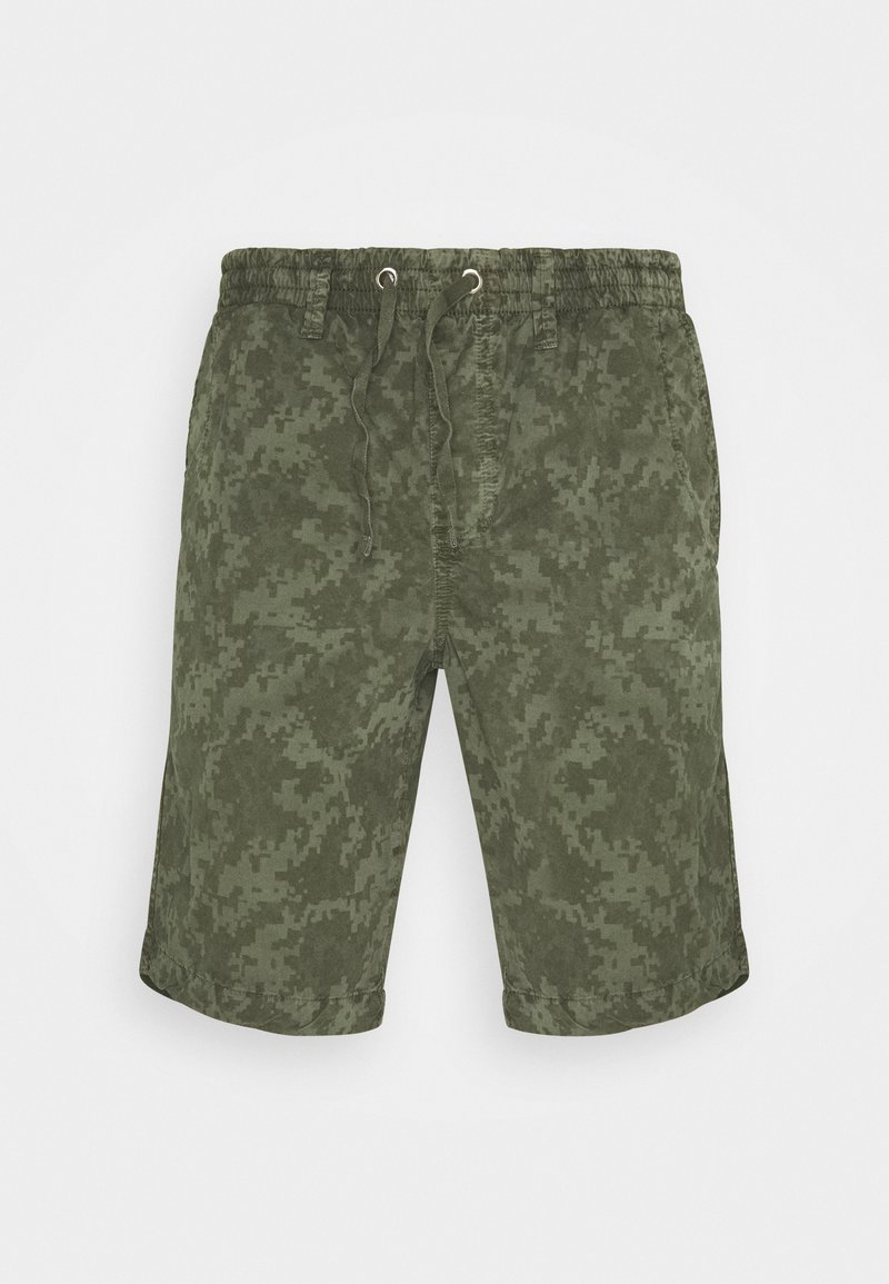 Schott - Shorts - digital khaki