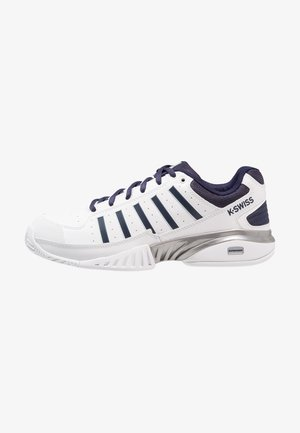 RECEIVER IV - Multicourt tennis shoes - white/navy