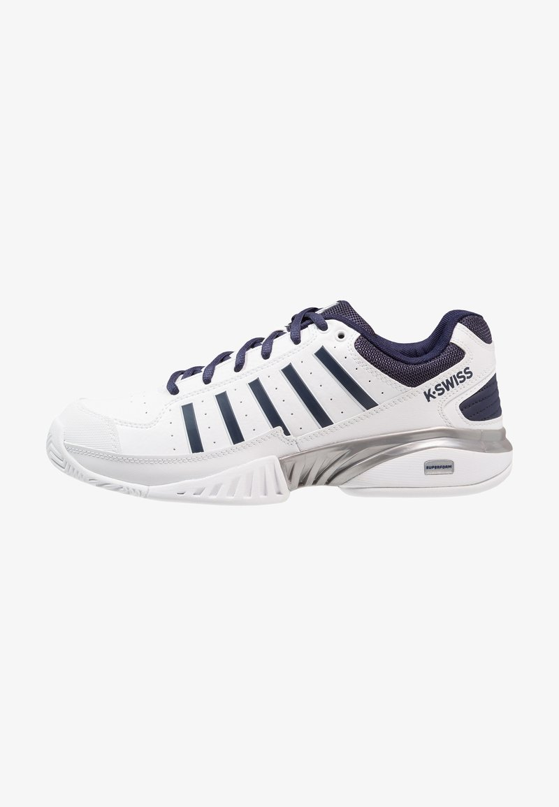 K-SWISS - RECEIVER IV - Multicourt tennis shoes - white/navy