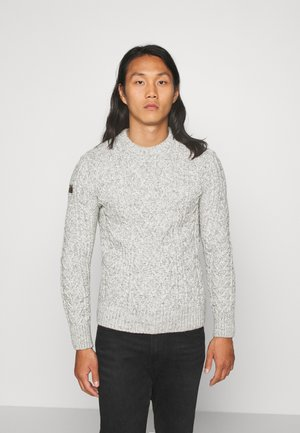 JACOB CABLE CREW - Pullover - beige