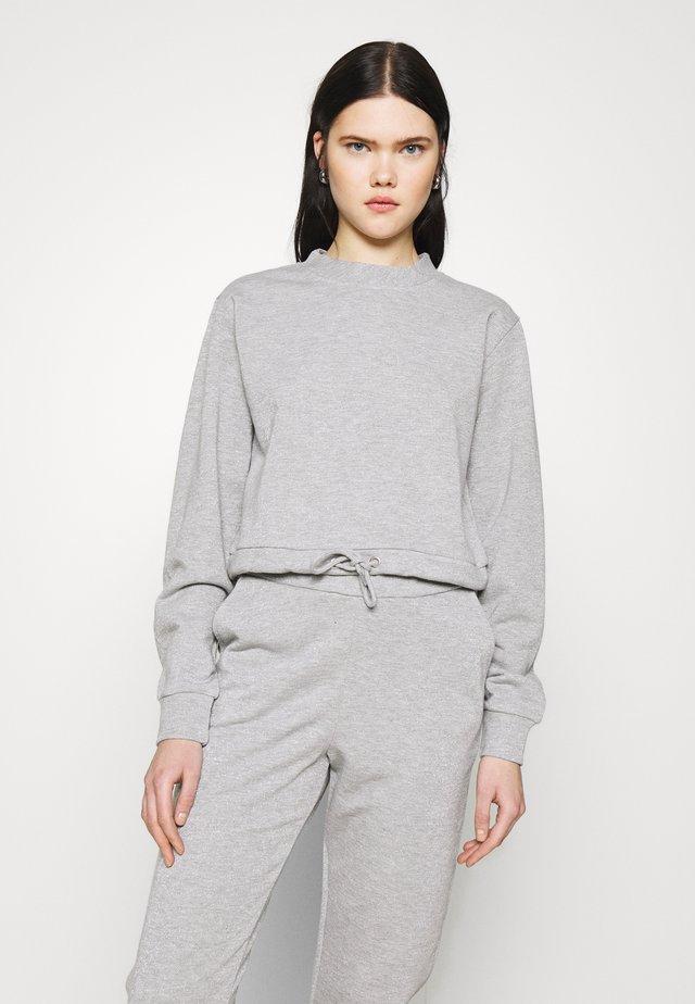 GLITTER - Bluza - grey