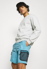 adidas Originals - UNISEX - Shorts - hazy blue - 3