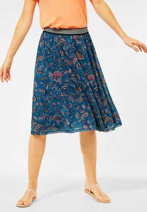 Pleated skirt - blau