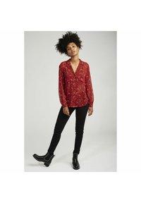 NAF NAF - Button-down blouse - red - 1
