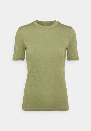 SHORT SLEEVE ROUND NECK - Basic T-shirt - dried sage